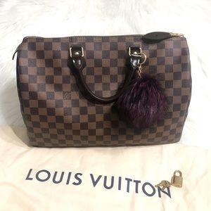 Louis Vuitton Speedy 35 Damier Ebene *MINT*